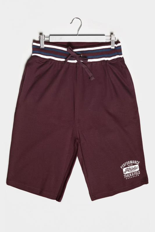 BadRhino Burgundy Performance Shorts