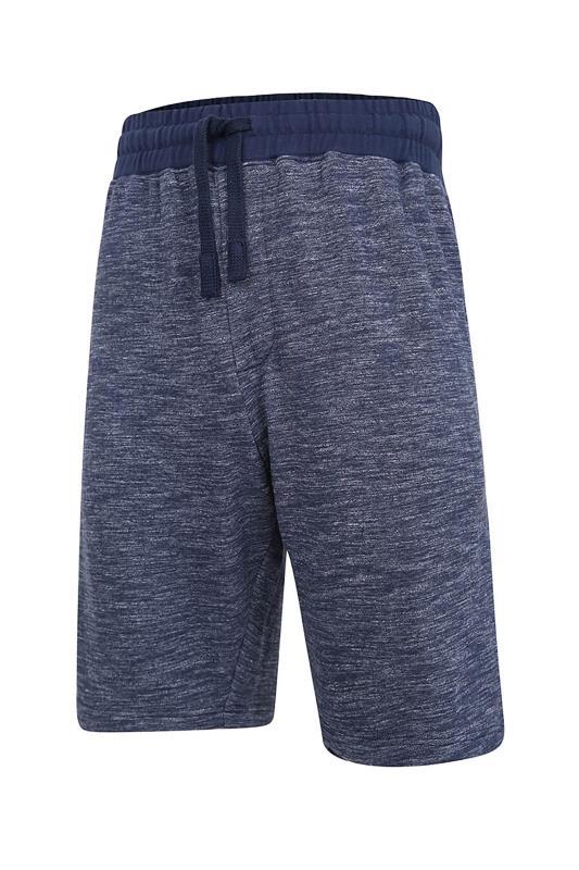 Plus Size  KAM Indigo Jog Shorts