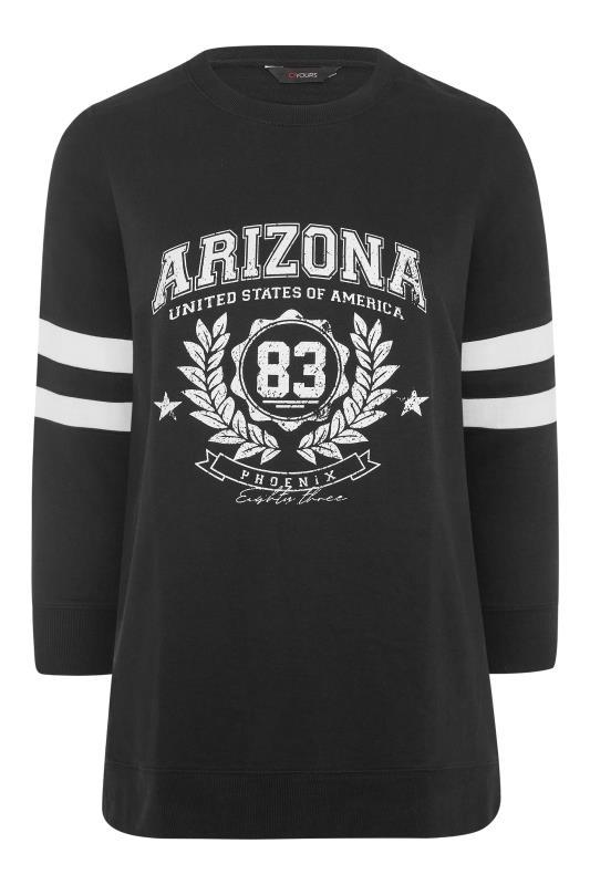 Black Varsity Stripe Arizona Sweatshirt_F.jpg