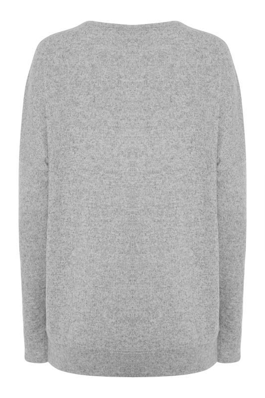 LTS Grey Sequin Star Soft Touch Top_BK.jpg