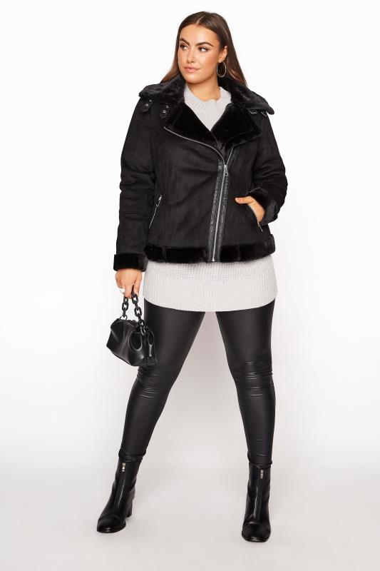 Black Faux Fur Trim Aviator Jacket_RB.jpg