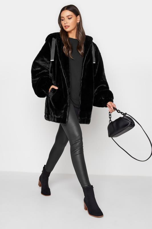 LTS Black Oversized Faux Fur Jacket_B.jpg