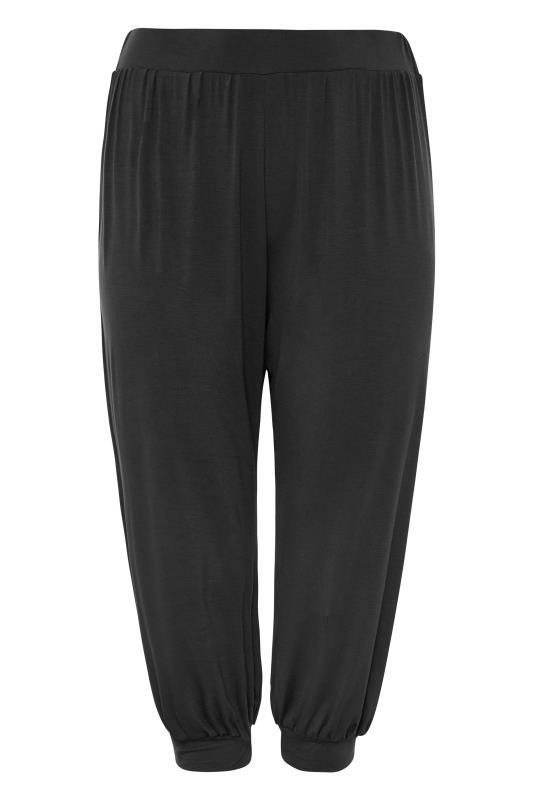 Black Cropped Jersey Joggers_F.jpg