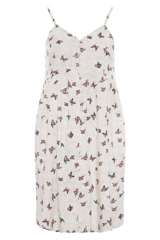 White Butterfly Spot Button Front Cami Dress_F.jpg