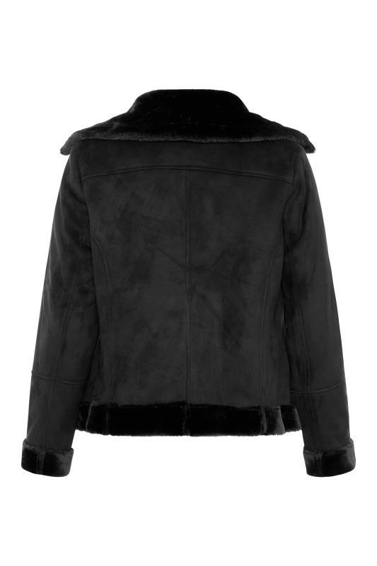 Black Faux Fur Trim Aviator Jacket_BK.jpg