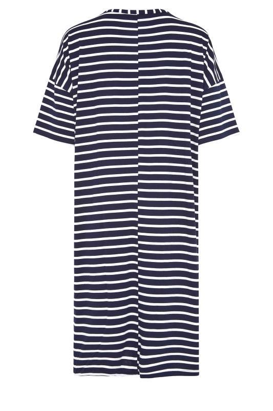 LTS Navy Stripe T-Shirt Dress_bk.jpg