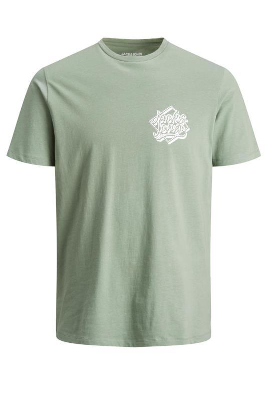 Men's  JACK & JONES Sage Green T-Shirt