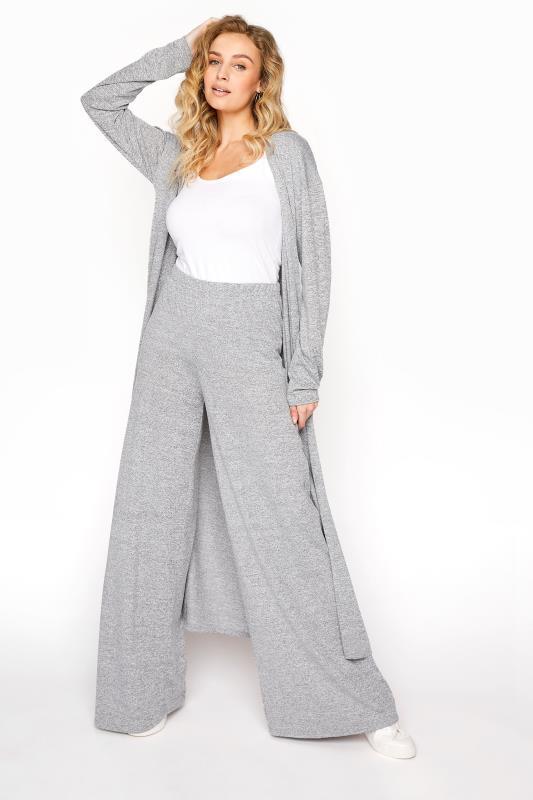 LTS Grey Wide Leg Lounge Trousers