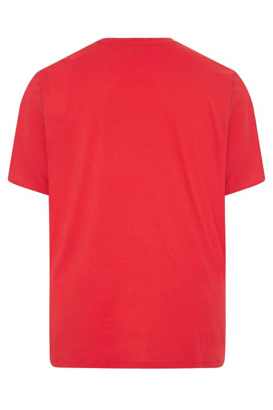 JACK & JONES Red Moon Logo T-Shirt