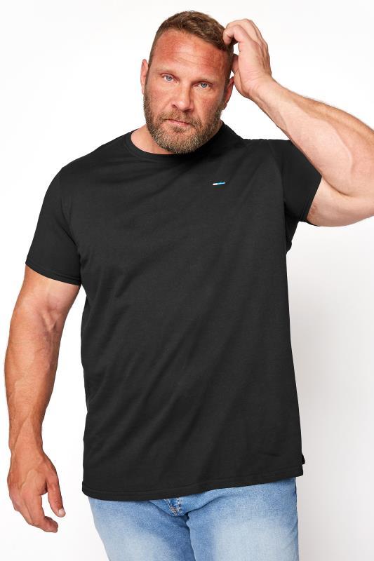 BadRhino Black Plain T-Shirt_M.jpg