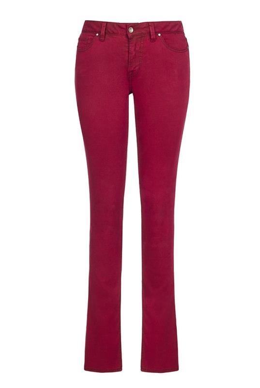 Red Premium Slim Leg Jeans
