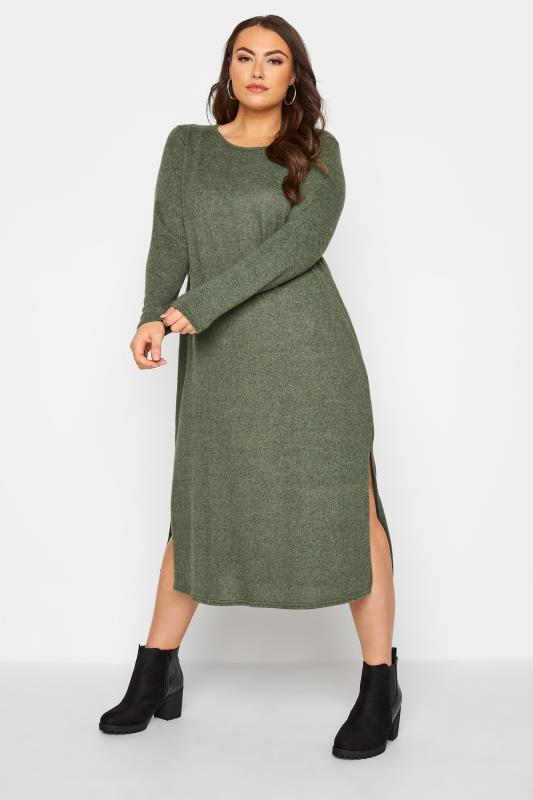 Green Knitted Jumper Dress_A.jpg
