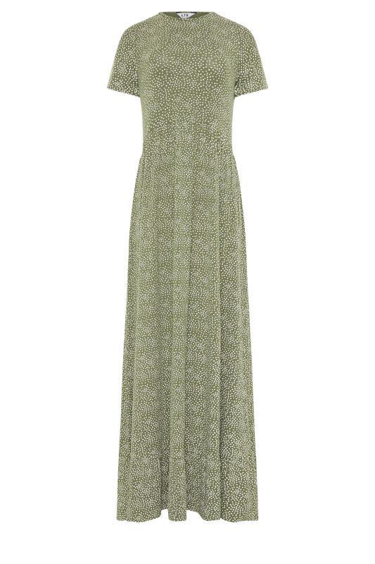 LTS Green Ditsy Floral Tiered Midaxi Dress_F.jpg