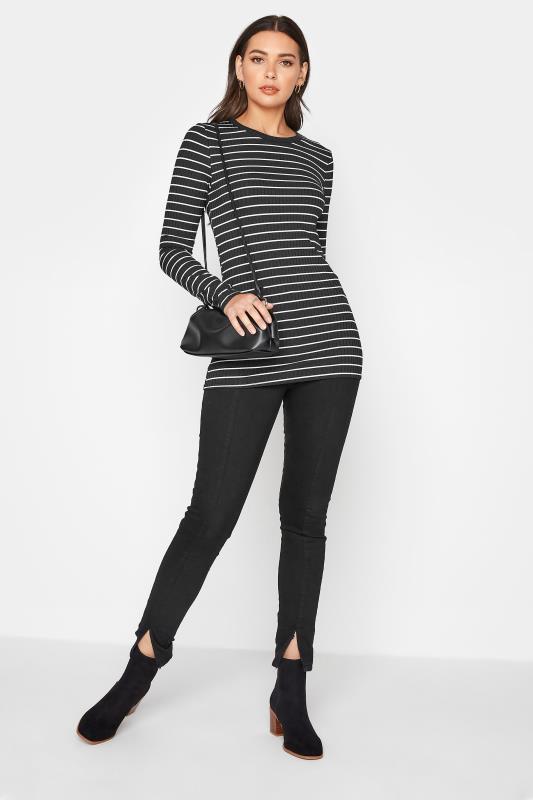 LTS Black Stripe Ribbed Top_B.jpg