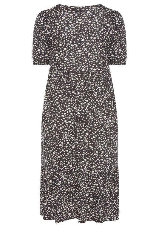 Black Ditsy Puff Sleeve Midaxi Dress_BK.jpg