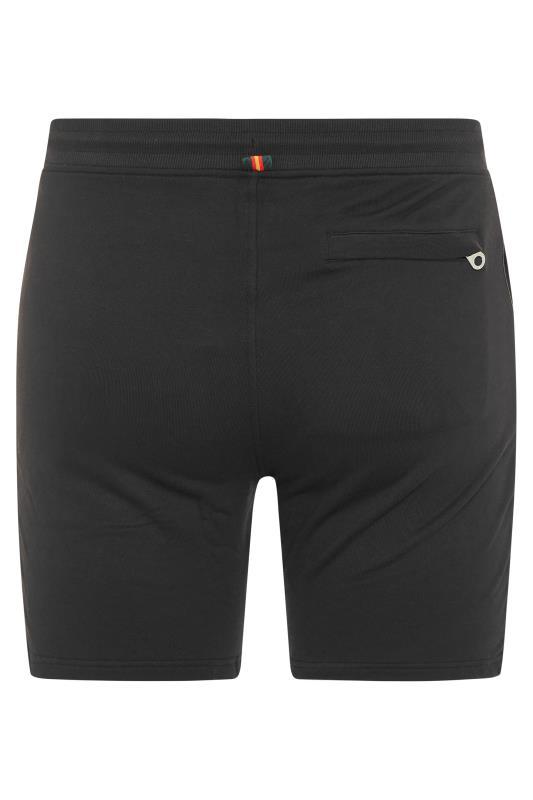 LUKE 1977 Black Amsterdam Shorts