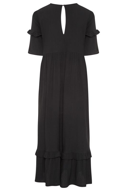THE LIMITED EDIT Black Smock Midaxi Dress_BK.jpg