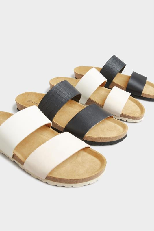 Off-White Leather Two Strap Footbed Sandals_E.jpg