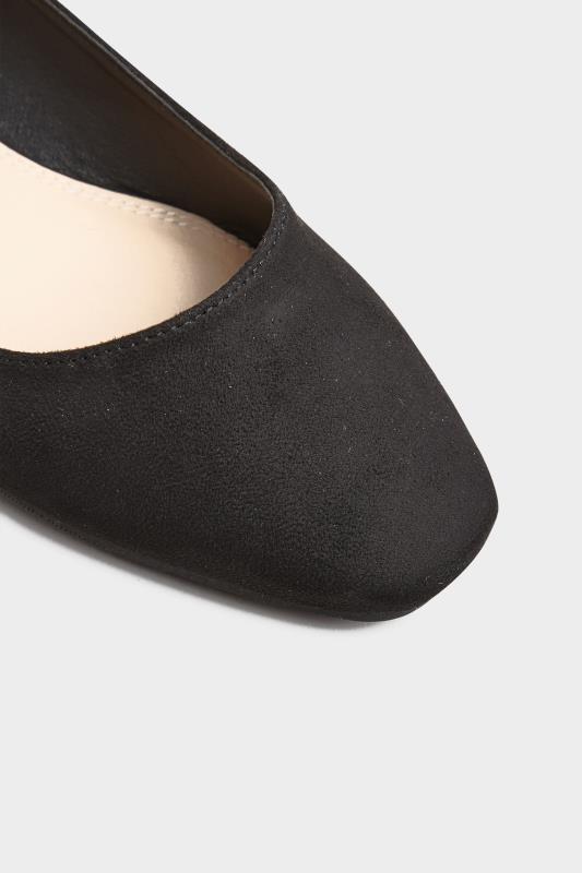 LTS Black Square Toe Ballet Pumps_E.jpg