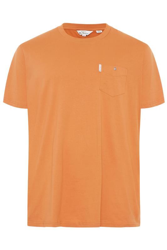 Men's  BEN SHERMAN Orange Pocket T-Shirt