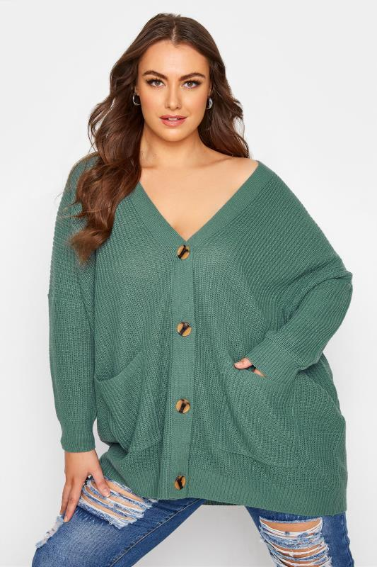 Green Button Knitted Cardigan_A.jpg