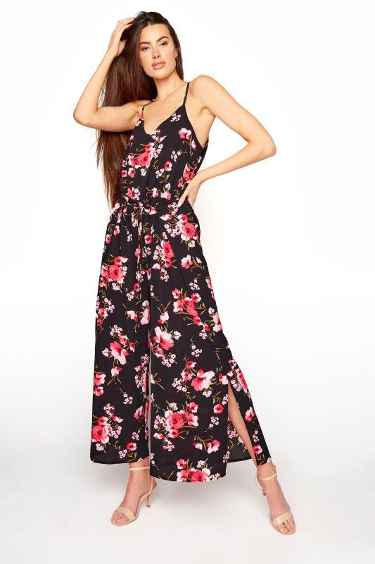 LTS Black Floral Wide Leg Strappy Jumpsuit_A.jpg