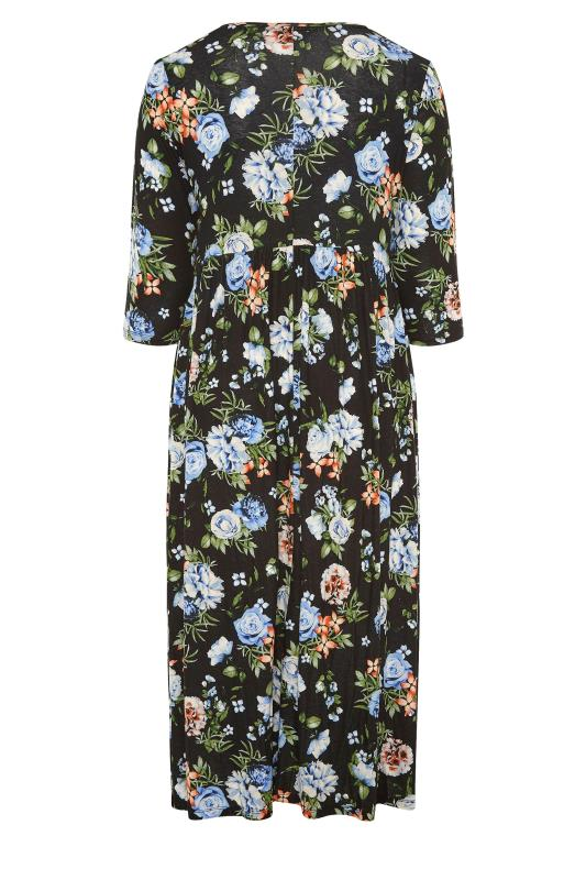 Black Pocket Floral Midaxi Dress_BK.jpg