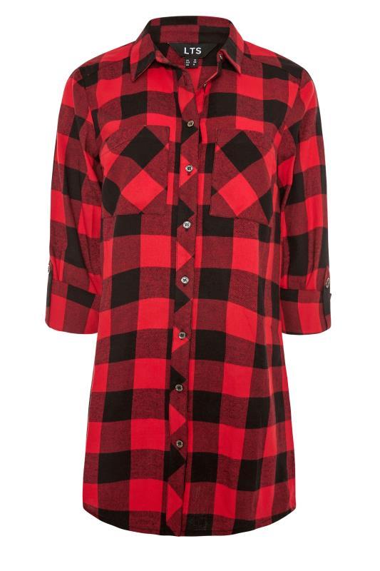 LTS Red Check Boyfriend Shirt_F.jpg