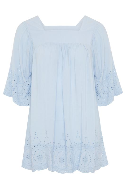 Pale Blue Milkmaid Broderie Anglaise Top_F.jpg