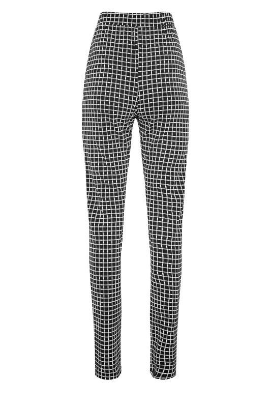 LTS Black Check Slim Leg Trousers_BK.jpg