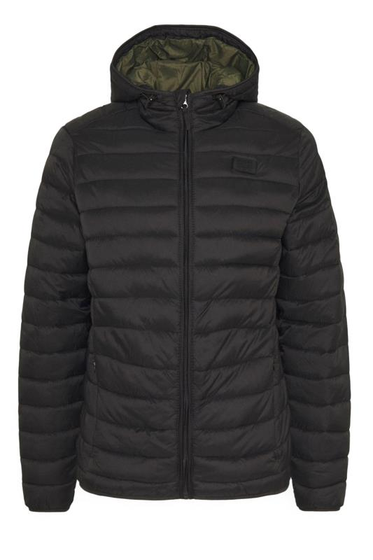 Plus Size Casual / Every Day BLEND Black Padded Puffer Jacket
