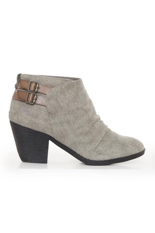 Tall  BLOWFISH Grey Samie Ankle Boot