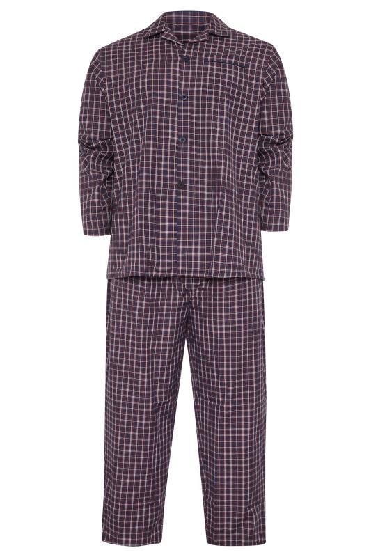 Plus Size  ESPIONAGE Red Check Pyjama Set
