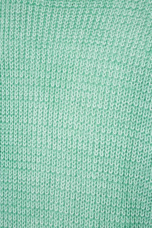 Green Balloon Sleeve Cardigan_S.jpg