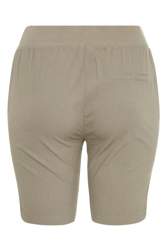 Khaki Cool Cotton Shorts_BK.jpg