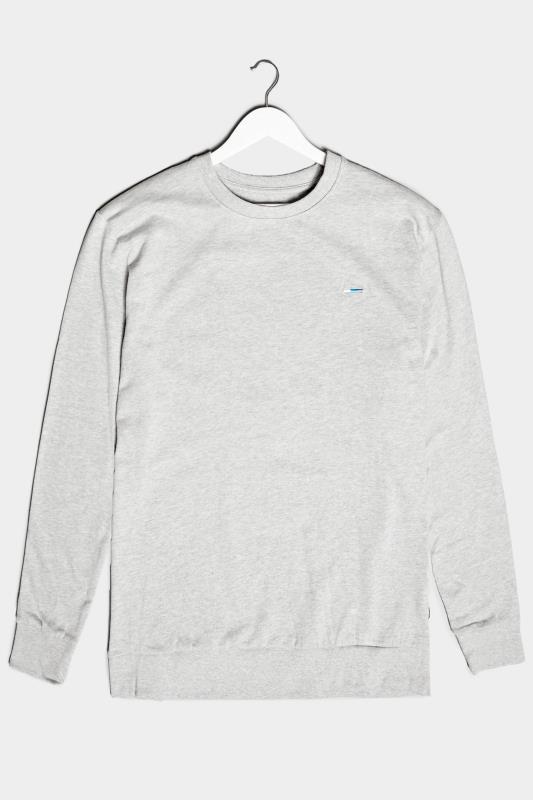 Men's  BadRhino Grey Marl Essential Sweatshirt