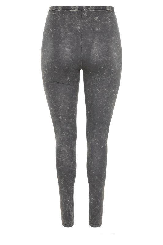 Grey Acid Wash Cotton Leggings_BK.jpg