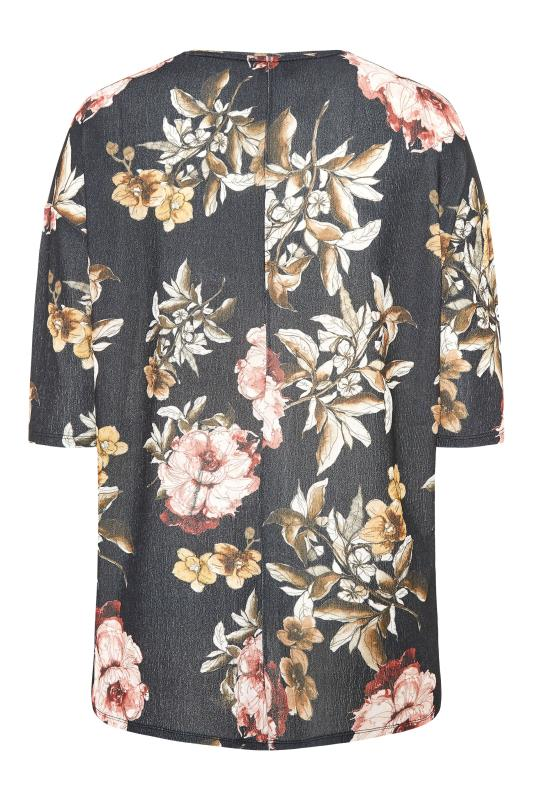 Black Floral Side Split Tunic_BK.jpg