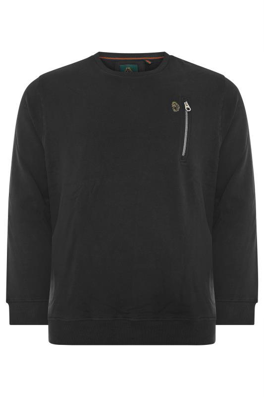 Plus Size  LUKE 1977 Black Sport Sweatshirt