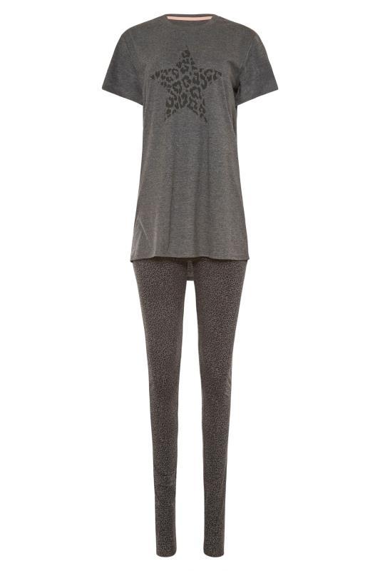 LTS Grey Leopard Print Star Pyjama Set_F.jpg