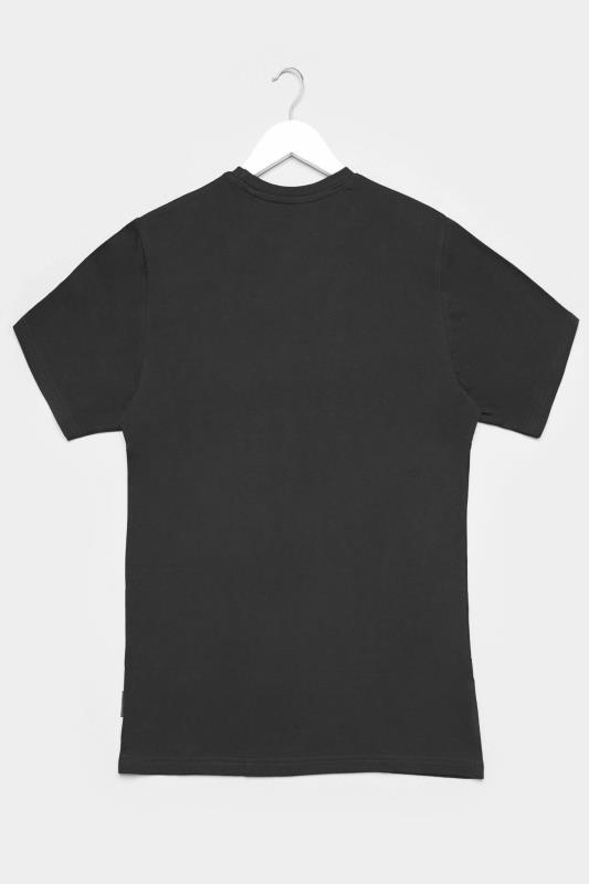 BadRhino Black Plain T-Shirt