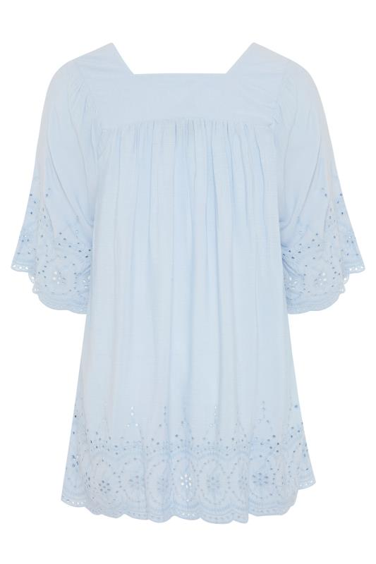 Pale Blue Milkmaid Broderie Anglaise Top_BK.jpg