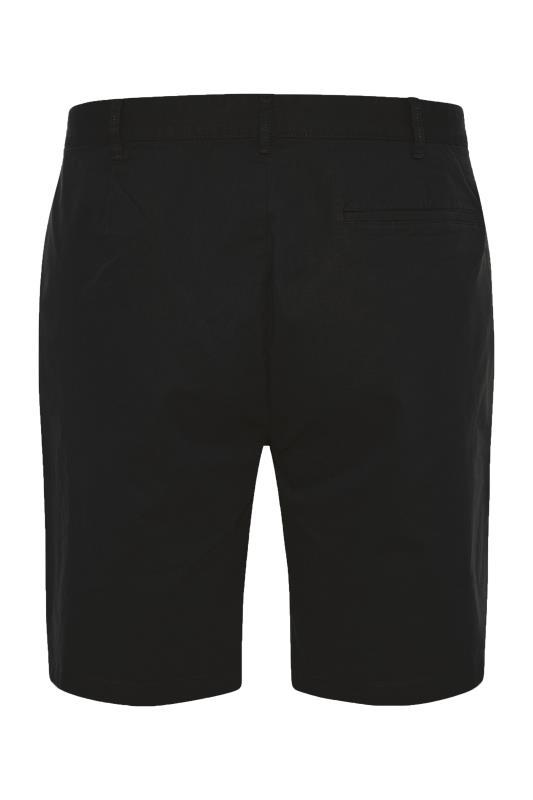BadRhino Black Stretch Chino Shorts_BK.jpg