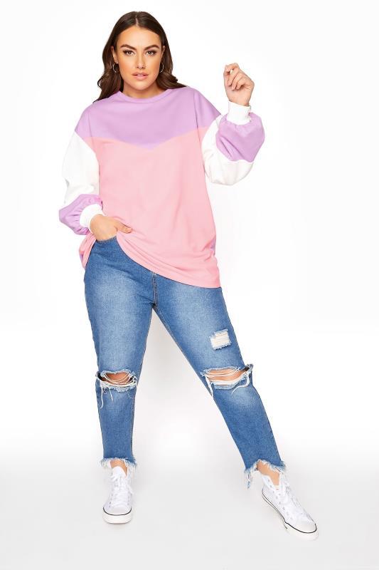 Purple Colour Block Sweatshirt_B.jpg