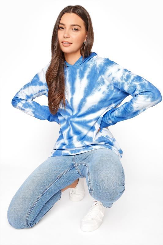 LTS Blue Tie Dye Hoodie