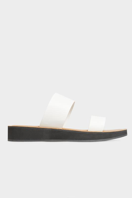 LTS White Two Strap Flat Sandals_A.jpg