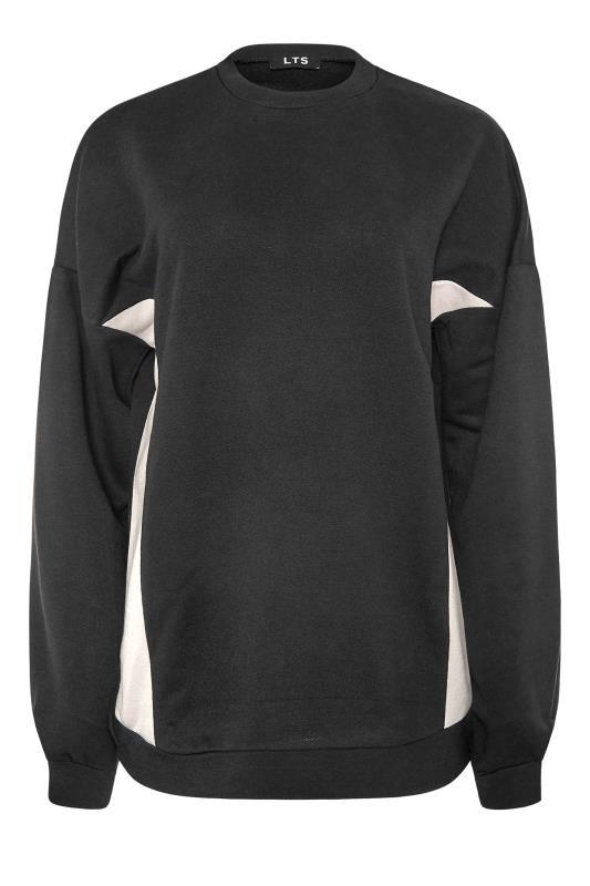 LTS Black Colour Block Sweatshirt_F.jpg