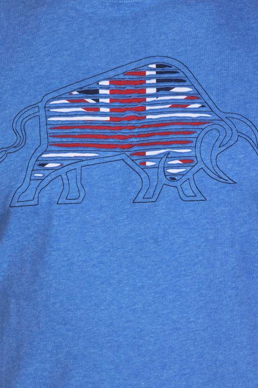 RAGING BULL Blue Slash Bull T-Shirt_D.jpg