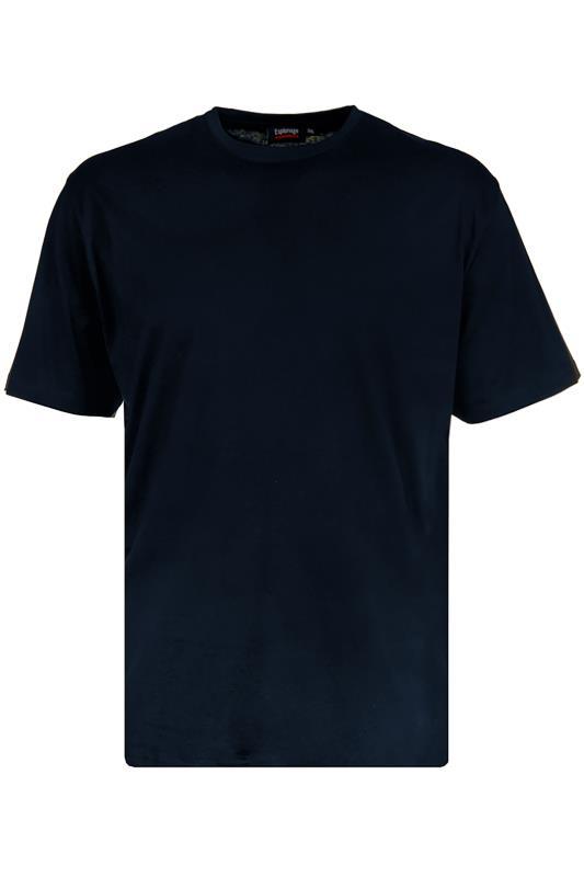 Plus Size  ESPIONAGE Navy Basic T-Shirt