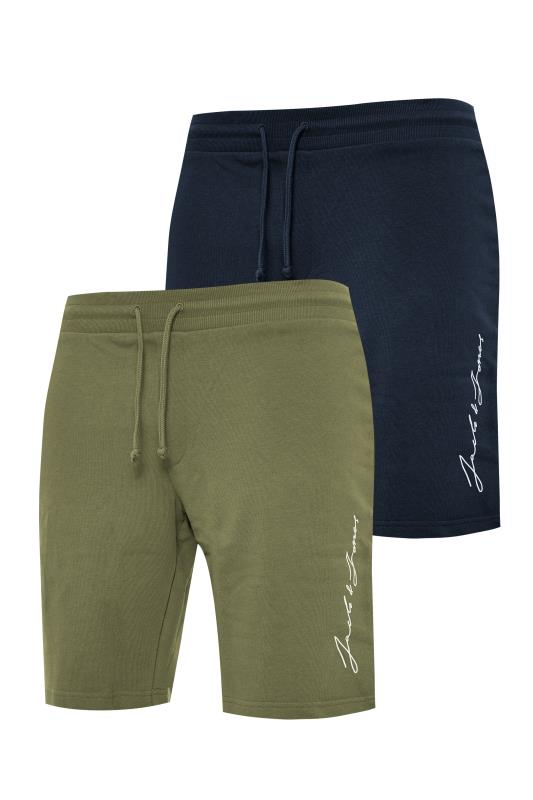 JACK & JONES Multi 2 Pack Sweat Shorts